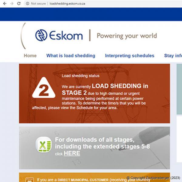 Zoutpansberger | News | Brace yourself for more load shedding